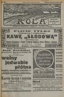 Rola : ilustrowany bezpartyjny tygodnik ku pouczeniu i rozrywce. 1936, nr50