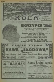 Rola : ilustrowany bezpartyjny tygodnik ku pouczeniu i rozrywce. 1936, nr52