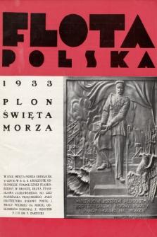 Flota Polska : czasopismo gospodarcze dla spraw żeglugi morskiej, powietrznej i kolonjalnych. 1933, nr15