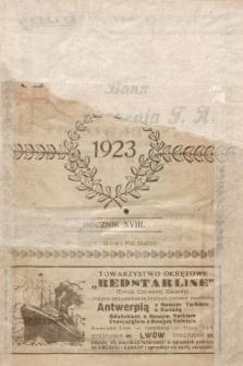 Kalendarz Informacyjny Słowa Polskiego na Rok Przestępny 1923
