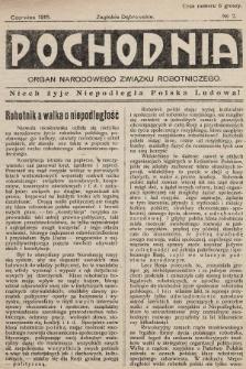 Pochodnia : organ Narodowego Związku Robotniczego. 1915, nr2