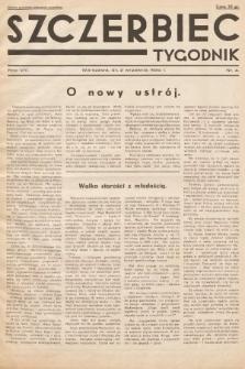 Szczerbiec : tygodnik. 1934, nr4