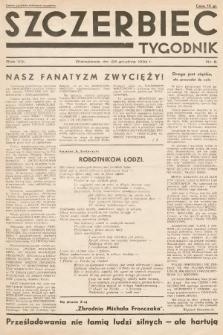 Szczerbiec : tygodnik. 1934, nr8