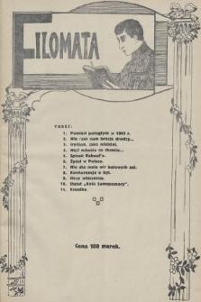 Filomata : pismo młodzieży szkolnej. 1922, nr2