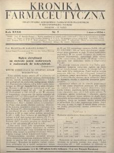 Kronika Farmaceutyczna : organ Związku Zawodowego Farmaceutów-Pracowników w Rzeczypospolitej Polskiej. 1934, nr5