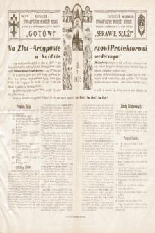 Gotów ! Sprawie Służ! : okólnik do oddziałów. [R. 11], 1935, nr5-6