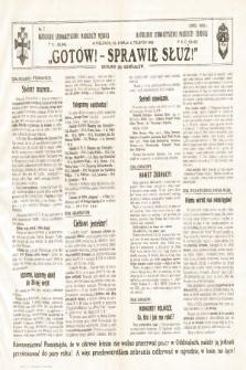 Gotów ! Sprawie Służ! : okólnik do oddziałów. [R. 11], 1935, nr7
