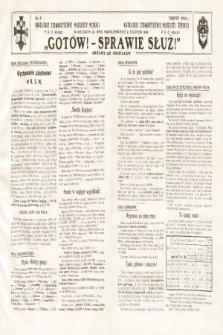 Gotów ! Sprawie Służ! : okólnik do oddziałów. [R. 11], 1935, nr8
