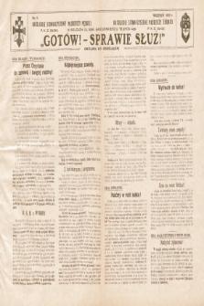 Gotów ! Sprawie Służ! : okólnik do oddziałów. [R. 11], 1935, nr9