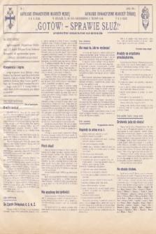 Gotów ! Sprawie Służ! : wydawnictwo organizacyjne dla oddziałów. [R. 14], 1938, nr7
