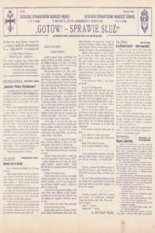 Gotów ! Sprawie Służ! : wydawnictwo organizacyjne dla oddziałów. [R. 14], 1938, nr12