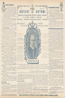 Gotów ! Gotów! : wydawnictwo organizacyjne dla oddziałów. [R. 15], 1939, nr4