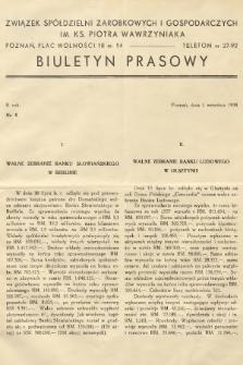 Biuletyn Prasowy. 1938, nr9
