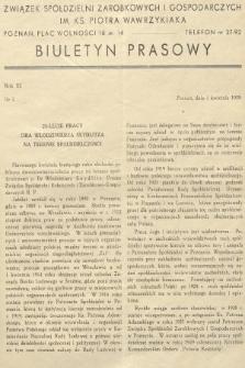 Biuletyn Prasowy. 1939, nr7