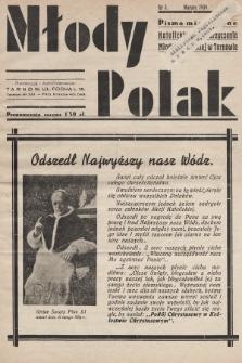 Młody Polak : pismo miesięczne Katolickiego Stowarzyszenia Młodzieży Męskiej w Tarnowie. 1939, nr3