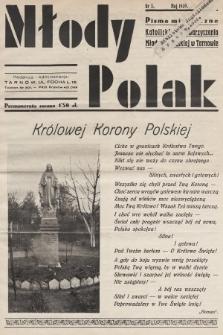 Młody Polak : pismo miesięczne Katolickiego Stowarzyszenia Młodzieży Męskiej w Tarnowie. 1939, nr5