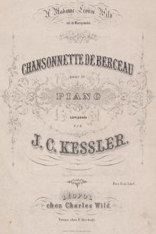 Chansonette de berceau : pour le piano