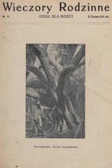 Wieczory Rodzinne : dział dla dzieci. 1914, nr25