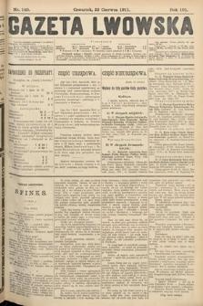 Gazeta Lwowska. 1911, nr140