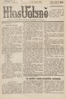 Hlas Volyně : týdeník, věnovaný českým zájmům v Polsku. 1936, č.3