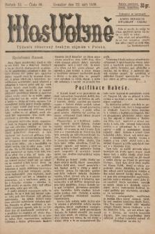Hlas Volyně : týdeník, věnovaný českým zájmům v Polsku. 1936, č.36