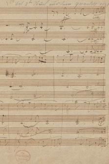 Szkice do kwartetu smyczkowego Es-dur op. 127