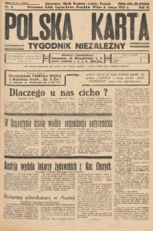 Polska Karta : tygodnik niezależny. 1935, nr6