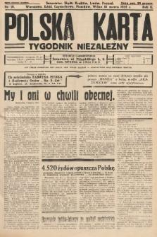 Polska Karta : tygodnik niezależny. 1935, nr10