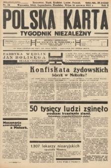Polska Karta : tygodnik niezależny. 1935, nr24