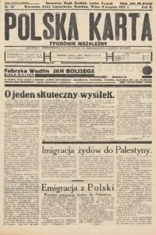 Polska Karta : tygodnik niezależny. 1935, nr32
