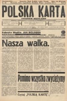 Polska Karta : tygodnik niezależny. 1935, nr35