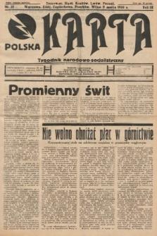 Polska Karta : tygodnik narodowo-socjalistyczny. 1936, nr10