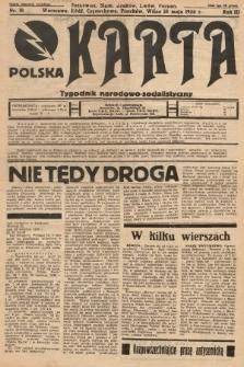 Polska Karta : tygodnik narodowo-socjalistyczny. 1936, nr18