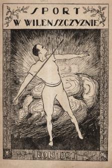 Ilustrowany Tygodnik Sportowy. 1921, nr1