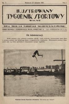 Ilustrowany Tygodnik Sportowy. 1921, nr7