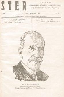 Ster : organ Lubelskiego Komitetu Wojewódzkiego Ligi Obrony Powietrznej Państwa. 1926, nr3