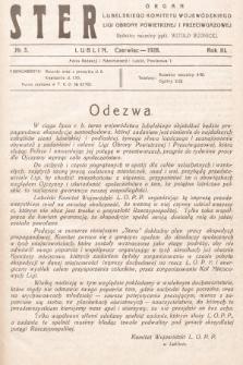 Ster : organ Lubelskiego Komitetu Wojewódzkiego Ligi Obrony Powietrznej i Przeciwgazowej. 1928, nr3