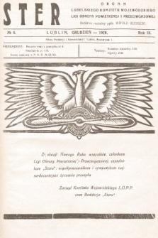 Ster : organ Lubelskiego Komitetu Wojewódzkiego Ligi Obrony Powietrznej i Przeciwgazowej. 1928, nr6