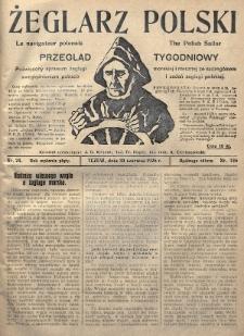 Żeglarz Polski : przegląd tygodniowy poświęcony sprawom żeglugi morskiej i rzecznej ze szczególnem uwzględnieniem potrzeb i zadań żeglugi polskiej. 1926, nr24