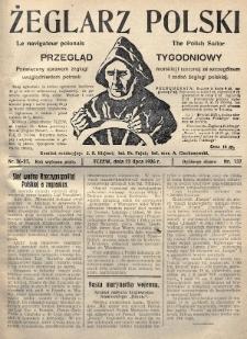 Żeglarz Polski : przegląd tygodniowy poświęcony sprawom żeglugi morskiej i rzecznej ze szczególnem uwzględnieniem potrzeb i zadań żeglugi polskiej. 1926, nr26-27