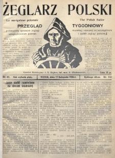 Żeglarz Polski : przegląd tygodniowy poświęcony sprawom żeglugi morskiej i rzecznej ze szczególnem uwzględnieniem potrzeb i zadań żeglugi polskiej. 1926, nr42