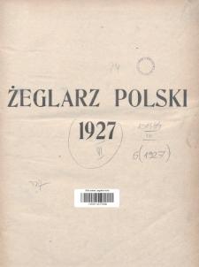 Żeglarz Polski : przegląd tygodniowy poświęcony sprawom żeglugi morskiej i rzecznej ze szczególnem uwzględnieniem potrzeb i zadań żeglugi polskiej. 1927, Spis rzeczy