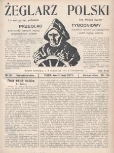 Żeglarz Polski : przegląd tygodniowy poświęcony sprawom żeglugi morskiej i rzecznej ze szczególnem uwzględnieniem potrzeb i zadań żeglugi polskiej. 1927, nr20
