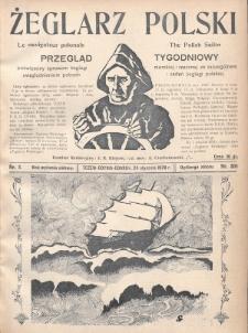 Żeglarz Polski : przegląd tygodniowy poświęcony sprawom żeglugi morskiej i rzecznej ze szczególnem uwzględnieniem potrzeb i zadań żeglugi polskiej. 1928, nr3