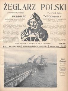 Żeglarz Polski : przegląd tygodniowy poświęcony sprawom żeglugi morskiej i rzecznej ze szczególnem uwzględnieniem potrzeb i zadań żeglugi polskiej. 1928, nr4