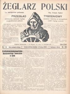 Żeglarz Polski : przegląd tygodniowy poświęcony sprawom żeglugi morskiej i rzecznej ze szczególnem uwzględnieniem potrzeb i zadań żeglugi polskiej. 1928, nr7-8