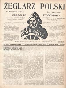 Żeglarz Polski : przegląd tygodniowy poświęcony sprawom żeglugi morskiej i rzecznej ze szczególnem uwzględnieniem potrzeb i zadań żeglugi polskiej. 1928, nr9-10