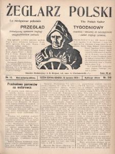 Żeglarz Polski : przegląd tygodniowy poświęcony sprawom żeglugi morskiej i rzecznej ze szczególnem uwzględnieniem potrzeb i zadań żeglugi polskiej. 1928, nr14