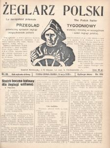 Żeglarz Polski : przegląd tygodniowy poświęcony sprawom żeglugi morskiej i rzecznej ze szczególnem uwzględnieniem potrzeb i zadań żeglugi polskiej. 1928, nr20