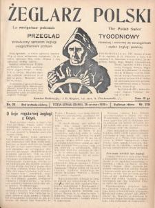 Żeglarz Polski : przegląd tygodniowy poświęcony sprawom żeglugi morskiej i rzecznej ze szczególnem uwzględnieniem potrzeb i zadań żeglugi polskiej. 1928, nr24